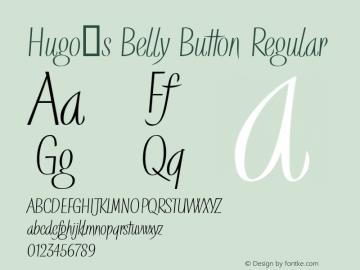 Hugo's Belly Button