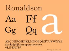 Ronaldson