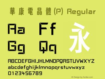 華康電晶體(P)