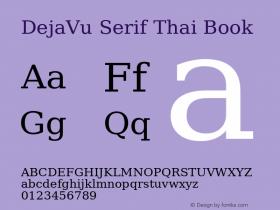 DejaVu Serif Thai
