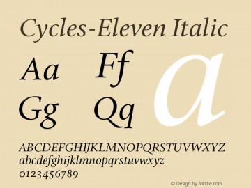 Cycles-Eleven