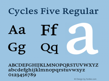 Cycles Five