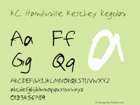 KC Handwrite Ketchey
