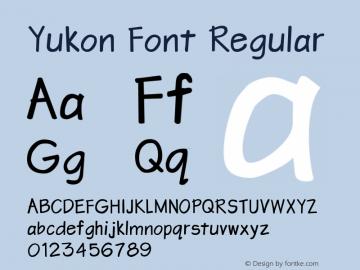 Yukon Font