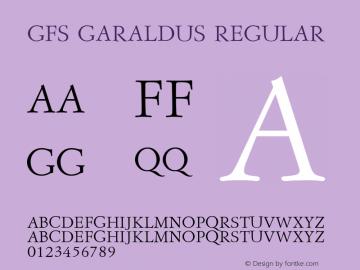 GFS Garaldus