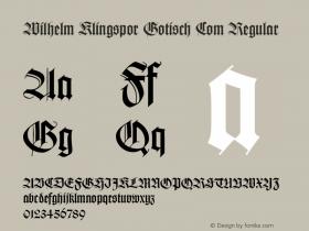 Wilhelm Klingspor Gotisch Com