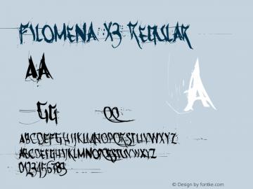 Filomena X3