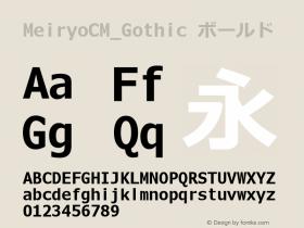 MeiryoCM_Gothic