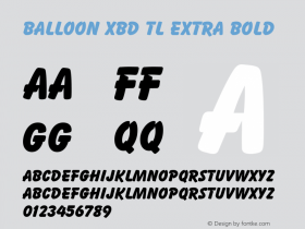 Balloon XBd TL