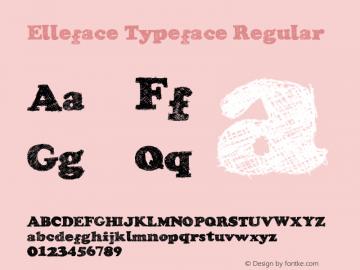 Elleface Typeface