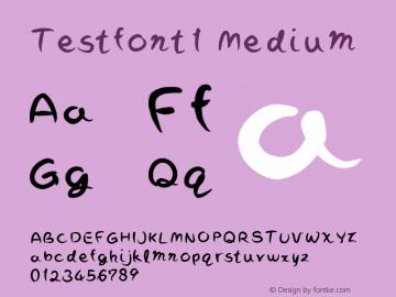 TestFont1
