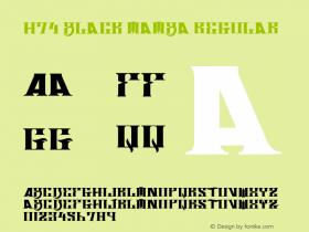 H74 Black Mamba