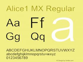 Alice1 MX