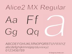 Alice2 MX