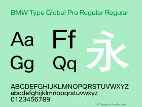 BMW Type Global Pro Regular