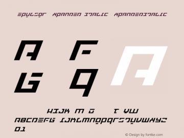 Repulsor Expanded Italic