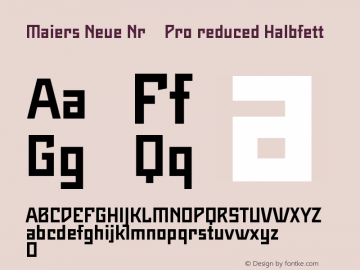 Maiers Neue Nr.8 Pro reduced