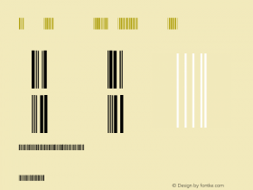 Keith Dimmock's 3 of 9 Barcode