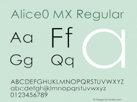 Alice0 MX