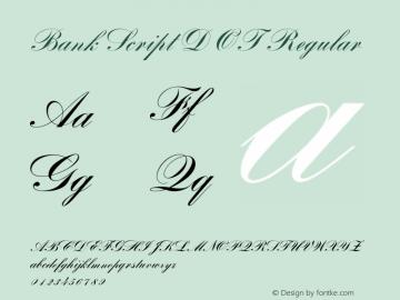 Bank Script D OT