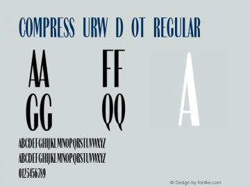 Compress URW D OT