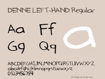 DENNE LEFT-HAND