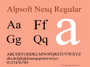 Alpsoft Nesq