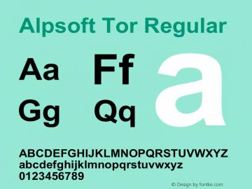 Alpsoft Tor