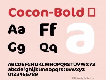 Cocon-Bold