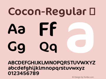Cocon-Regular