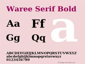 Waree Serif
