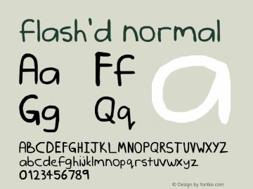 flash'd
