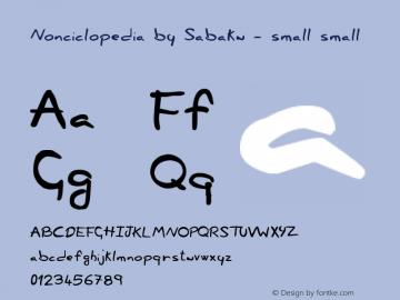Nonciclopedia by Sabaku - small