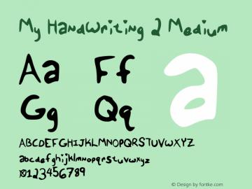 My HandWriting 2