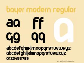 Bayer Modern