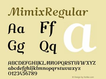 MimixRegular