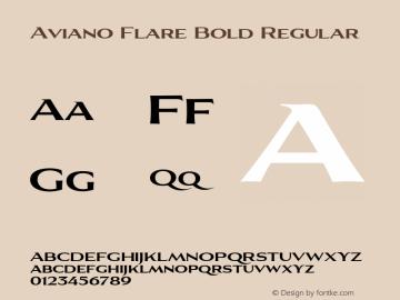 Aviano Flare Bold