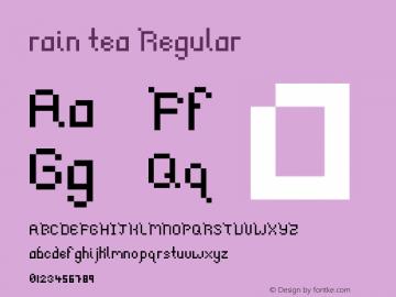 rain tea