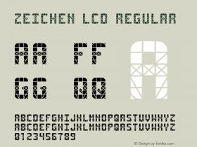 Zeichen LCD