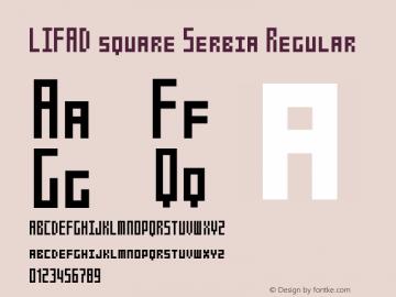 LIFAD square Serbia