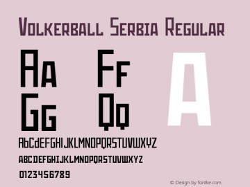 Volkerball Serbia