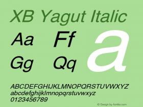 XB Yagut