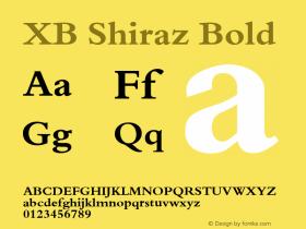 XB Shiraz