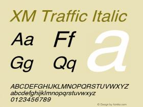 XM Traffic
