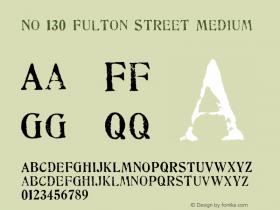 No 130 Fulton Street