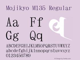 Mojikyo M135