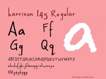 harrison 145