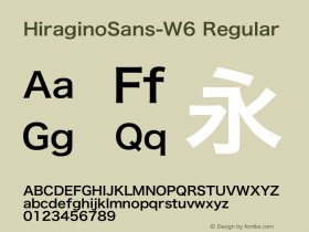 HiraginoSans-W6