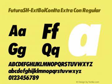 FuturaSH-ExtBolConIta Extra Con