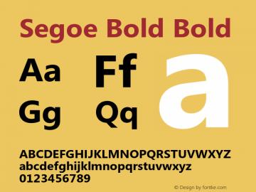 Segoe Bold